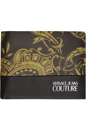 VERSACE Black Regalia Baroque Bifold Wallet
