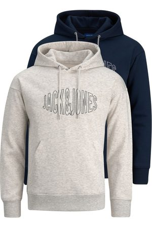 jack & jones 2-pak Fiskeøje-logo Hoodie Mænd