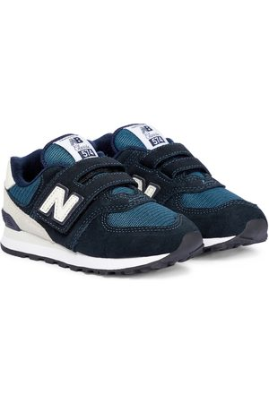 New Balance 574 History Class suede sneakers