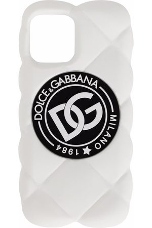 Dolce & Gabbana Quiltet iPhone 12 Pro Max cover med DG-logo