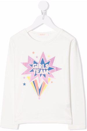 Billieblush Langærmet T-shirt med glimmer-stjerner