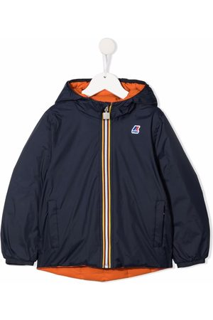 K Way Kids Padded reversible down jacket