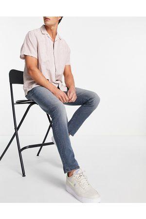 jack & jones Intelligence - Glenn - Jeans med ekstra stretch i mellemvasket i slim fit