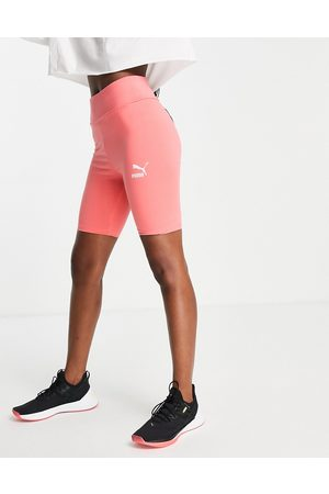 Puma Kvinder Shorts - Klassiske leggingsshorts i ferskenfarve-Orange