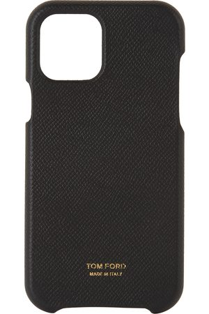 Tom Ford Black Grained Leather iPhone 11 Pro Case
