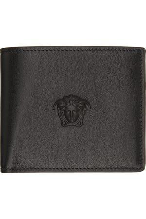VERSACE Black 'La Medusa' Wallet