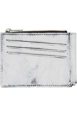 Maison Margiela Black & White Hand-Painted Money Clip Wallet