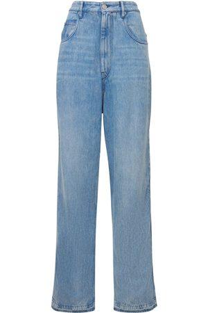 ISABEL MARANT ÉTOILE Tilorsy High Waist Straight Denim Jeans