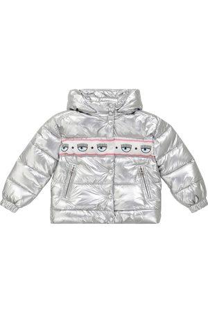 MONNALISA X Chiara Ferragni logo down jacket