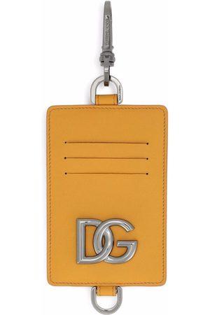 Dolce & Gabbana Mænd Punge - Clip-on leather cardholder