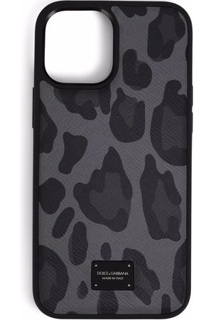Dolce & Gabbana Mænd Mobil Covers - Leopard-print iPhone 12 Pro Max case