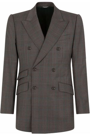 Dolce & Gabbana Double-breasted tartan-check suit