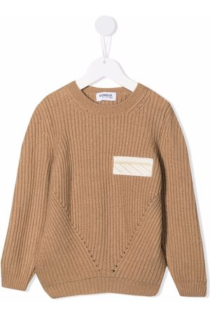 Dondup Logo-patch knitted jumper