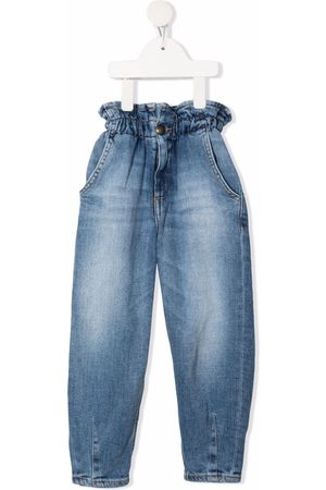 Dondup High-waisted paperbag jeans