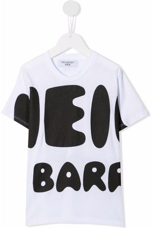 Neil Barrett Logo slogan t-shirt