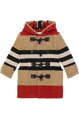 Burberry Channing striped coat