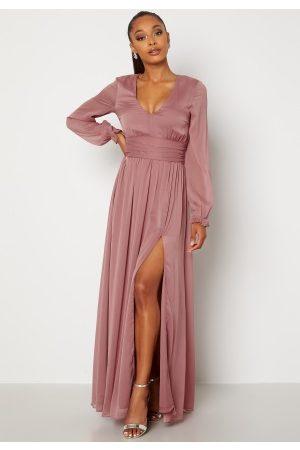 Bubbleroom Occasion Kvinder Kjoler - Delilah prom dress Dark old rose