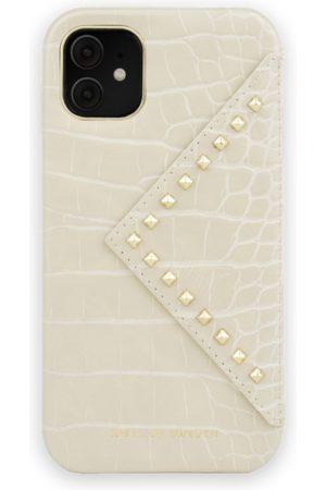 IDEAL OF SWEDEN Mobil Covers - Statement Case iPhone 11 Beatstuds Cream Croco