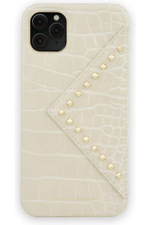 Ideal of sweden Mobil Covers - Statement Case iPhone 11 Pro Max Beatstuds Cream Croco