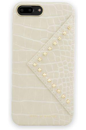 IDEAL OF SWEDEN Mobil Covers - Statement Case iPhone 8 Plus Beatstuds Cream Croco