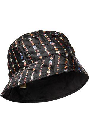 Becksöndergaard Liluye Quilted Buckle Hat Accessories Headwear Bucket Hats Multi/mønstret
