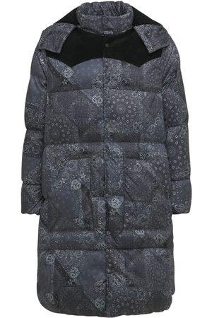 BLAST-OFF Bandana Long Padded Jacket