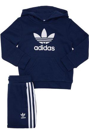 ADIDAS ORIGINALS Cotton Blend Sweatshirt & Sweatpants