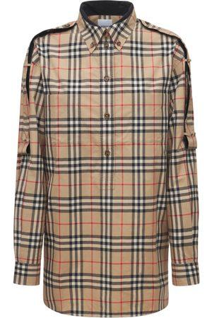 BURBERRY Cotton Check Ester Shirt