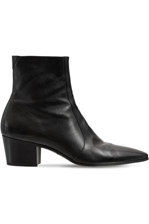 SAINT LAURENT Mænd Støvler - Vassili 60 Leather Boots