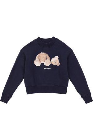 Palm Angels Cotton crewneck sweatshirt