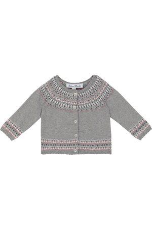 Tartine Et Chocolat Baby cotton, wool and cashmere cardigan