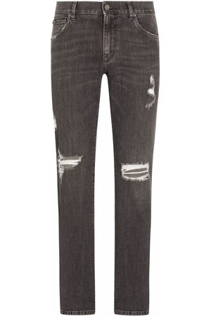 Dolce & Gabbana Ripped slim-fit jeans
