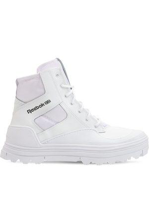 Reebok Club C Cleated Mid Sneakers