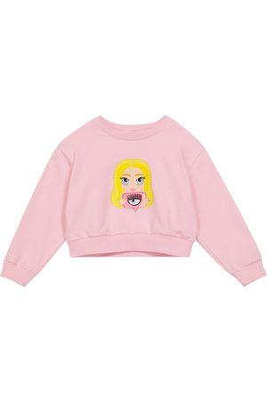 Monnalisa X Chiara Ferragni Mascotte stretch-cotton sweatshirt
