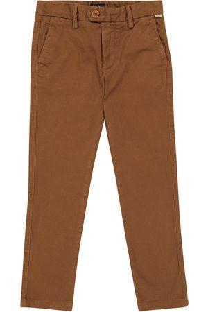 Il gufo Stretch-cotton twill pants