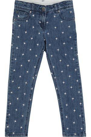 Stella McCartney High-rise stretch-cotton jeans