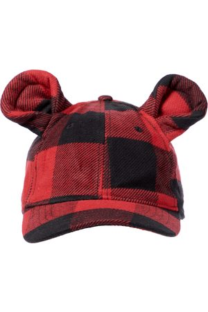 Palm Angels Checked cotton cap