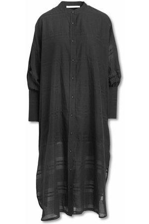 Rabens Saloner Kvinder Kimonos - Floating Stripes Kaftan