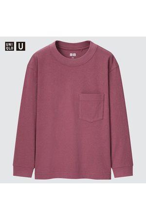 UNIQLO Kids U Crew Neck Long Sleeved T-Shirt