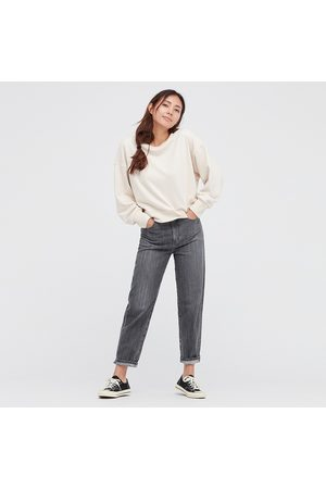 UNIQLO Women Peg Top High Rise Ankle Length Jeans
