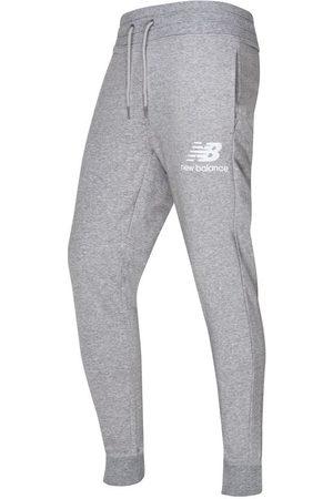 New Balance Mænd Joggingbukser - Essential Sweatpants Slim Fit - /Hvid