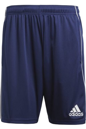 adidas Drenge Shorts - Træningsshorts Core 18 - Navy/Hvid Børn