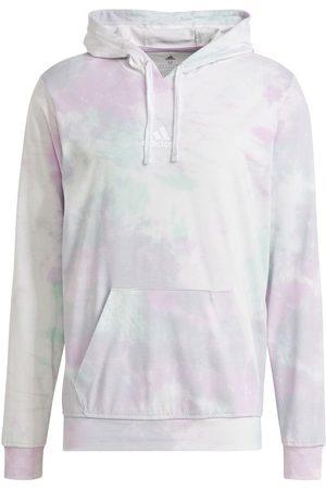 adidas Mænd Sweatshirts - Essentials Tie-Dyed Inspirational hoodie Türkis