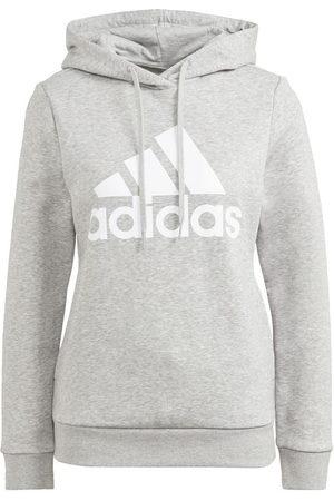 adidas Mænd Sweatshirts - LOUNGEWEAR Essentials Logo Fleece hættetrøje