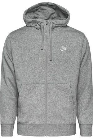 Nike Mænd Sweatshirts - Hættetrøje NSW Club FZ - /Sølv/Hvid