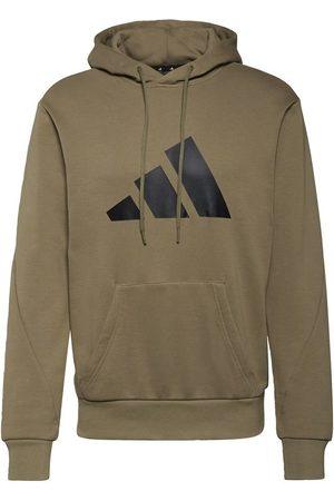 adidas Mænd Sweatshirts - M FI 3B Hoodie ORBGRN