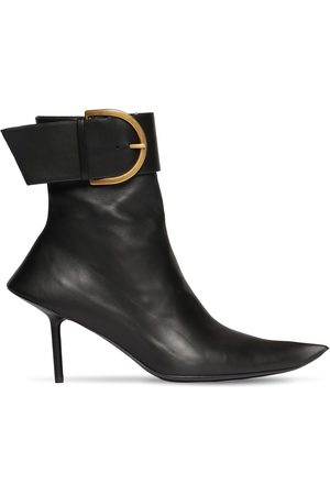 BALENCIAGA 80mm Essex Leather Ankle Boots