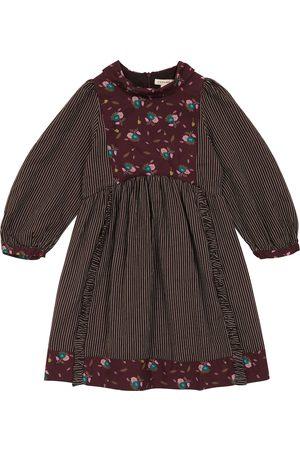 Caramel Kvinder Mønstrede kjoler - Earth printed cotton dress