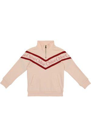 Chloé Piger Sweatshirts - Logo cotton sweatshirt