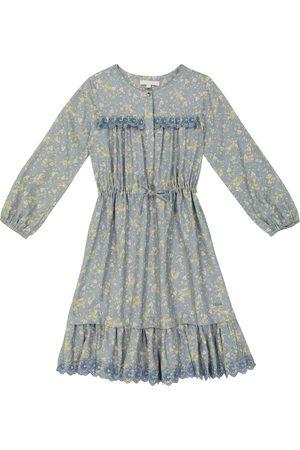 Chloé Floral printed long-sleeved dress